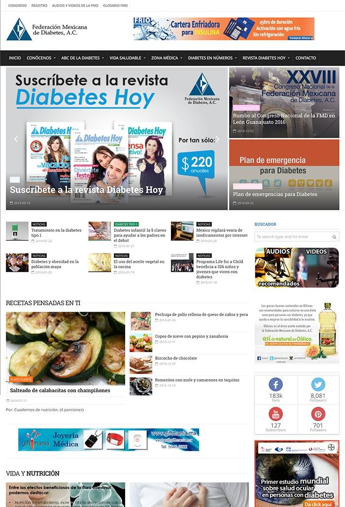 Federación mexicana de diabetes