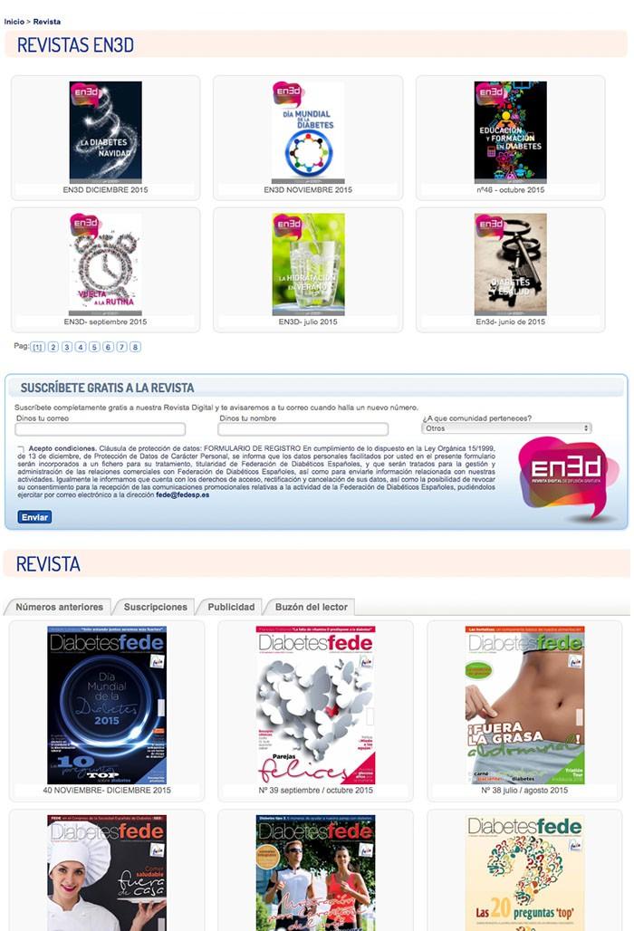 fc3667bae4 Diabeweb - FEDE: Federación Española de Diabetes