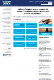 Diabetes Canada - Clinical Practice Guidelines