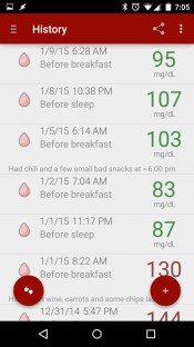 Blood Glucose Tracker