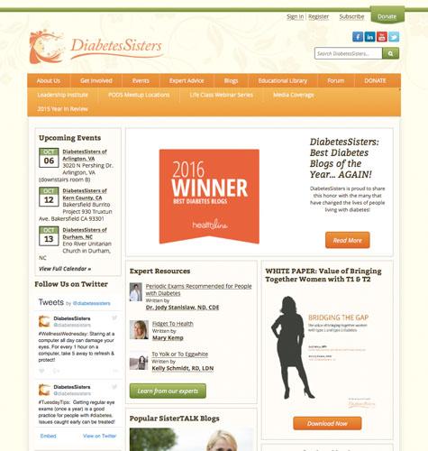 sitios de blog de diabetes diatribe